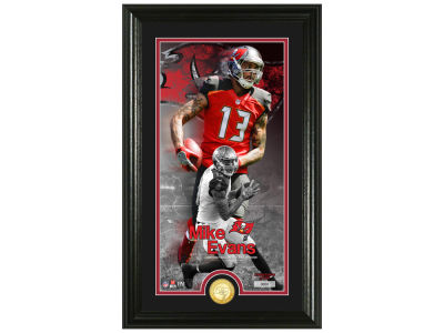 Tampa Bay Buccaneers Mike Evans Highland Mint Supreme Bronze Coin Photo Mint V