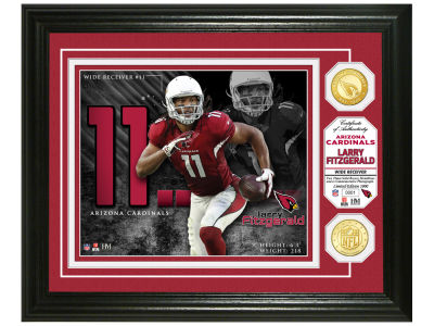 Arizona Cardinals Larry Fitzgerald Highland Mint Bronze Coin Photo Mint