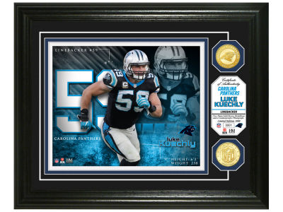 8ffee5a34c7 Carolina Panthers Luke Kuechly Highland Mint Bronze Coin Photo Mint