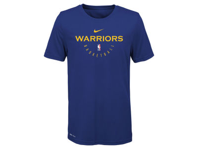 Golden State Warriors Nike 2018 NBA Youth Elite Practice T-Shirt
