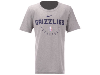 Memphis Grizzlies Nike 2018 NBA Youth Elite Practice T-Shirt