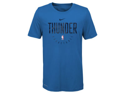 Oklahoma City Thunder Nike 2018 NBA Youth Elite Practice T-Shirt