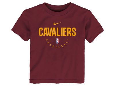 Cleveland Cavaliers Nike 2018 NBA Kids Elite Practice T-Shirt