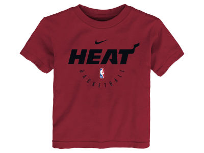 Miami Heat Nike 2018 NBA Kids Elite Practice T-Shirt