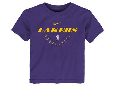 58d961133 Los Angeles Lakers Nike NBA Toddler Elite Practice T-Shirt