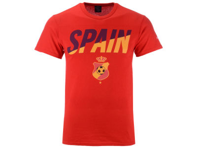 Spain Fifth Sun Men's National Team Gym Wedge World Cup T-Shirt