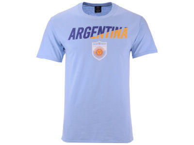 Argentina Fifth Sun Men's National Team Gym Wedge World Cup T-Shirt