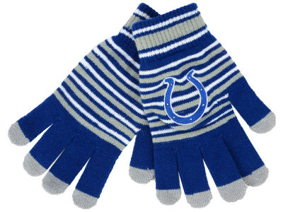 Indianapolis Colts Forever Collectibles Acrylic Stripe Knit Glove 5d6e3be9d