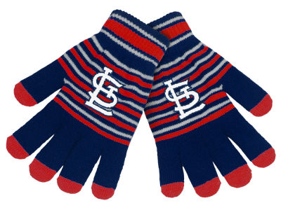 St. Louis Cardinals Forever Collectibles Acrylic Stripe Knit Glove