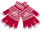 Ohio State Buckeyes Forever Collectibles Acrylic Stripe Knit Gloves Apparel & Accessories