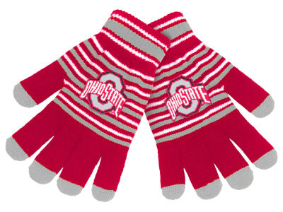 Forever Collectibles Acrylic Stripe Knit Glove