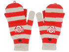 Ohio State Buckeyes Forever Collectibles Knit Flip Top Gloves Apparel & Accessories