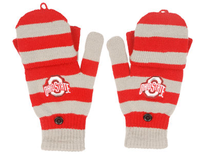 Forever Collectibles Knit Flip Top Gloves