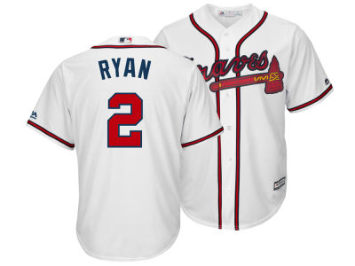 Atlanta Braves Matt Ryan Majestic MLB Men's NFLPA Replica Cool Base Jersey