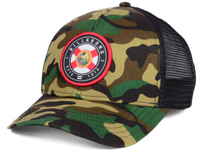 Billabong Camo Native Rotor Trucker Cap