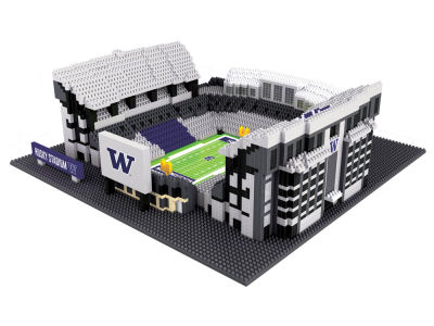 Washington Huskies BRXLZ 3D BRXLZ-Stadium
