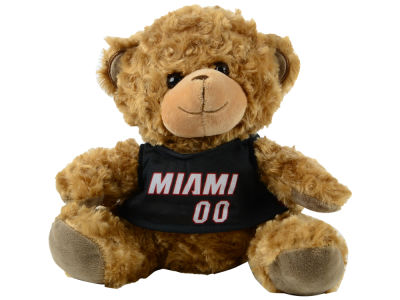 "Miami Heat Forever Collectibles 10"" Jersey Bear"