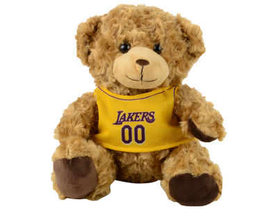 "Los Angeles Lakers Forever Collectibles 10"" Jersey Bear"