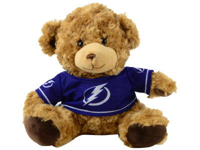 "Tampa Bay Lightning Forever Collectibles 10"" Jersey Bear"