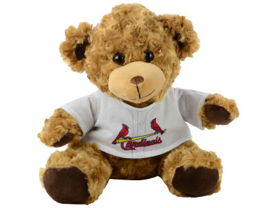 "St. Louis Cardinals Forever Collectibles 10"" Jersey Bear"