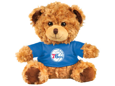 "Philadelphia 76ers Forever Collectibles 10"" Shirt Bear"