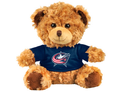 "Columbus Blue Jackets Forever Collectibles 10"" Shirt Bear"
