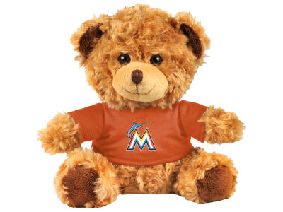 "Miami Marlins Forever Collectibles 10"" Shirt Bear"
