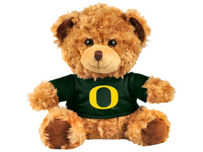 "Oregon Ducks Forever Collectibles 10"" Shirt Bear"