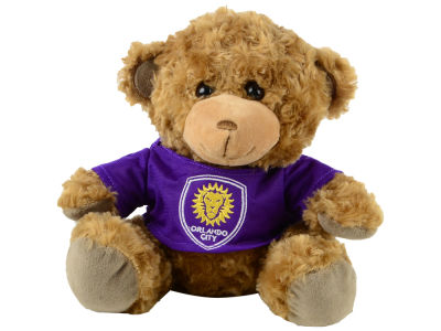 "Orlando City SC Forever Collectibles 10"" Shirt Bear"