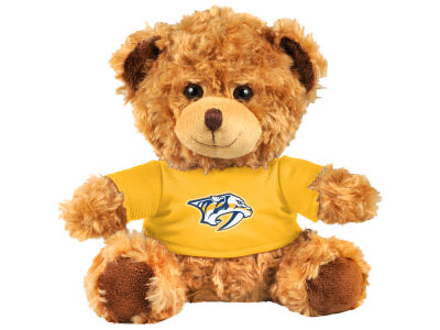 "Nashville Predators Forever Collectibles 10"" Shirt Bear"