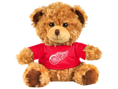 "Detroit Red Wings Forever Collectibles 10"" Shirt Bear"