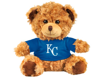 "Kansas City Royals Forever Collectibles 10"" Shirt Bear"