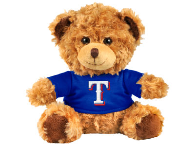 "Texas Rangers Forever Collectibles 10"" Shirt Bear"