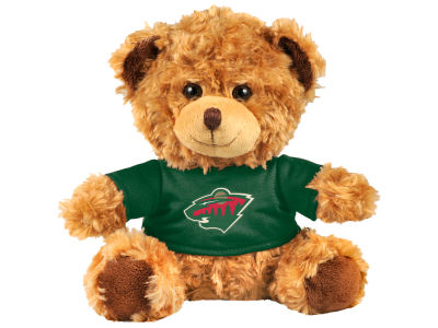 "Minnesota Wild Forever Collectibles 10"" Shirt Bear"