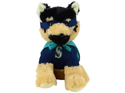 "Seattle Mariners Forever Collectibles 14"" Super Hero Dog"