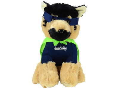 "Seattle Seahawks Forever Collectibles 14"" Super Hero Dog"