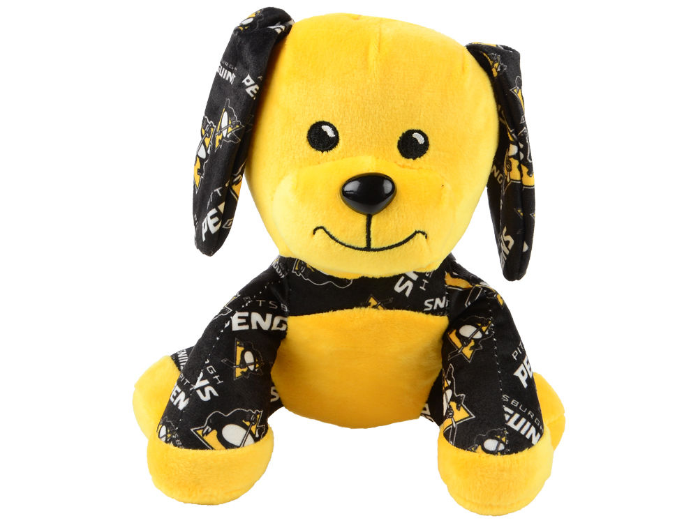 Pittsburgh Penguins Forever Collectibles 7 5 Printed Seated Dog Toy