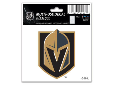 Vegas Golden Knights Static Cling Decal