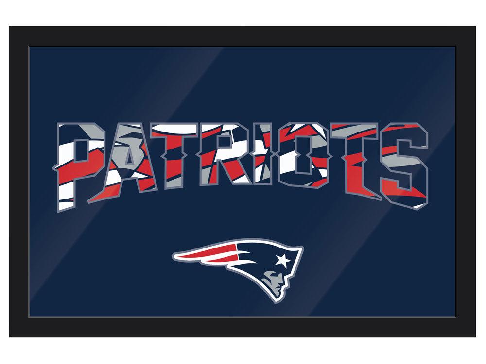 New England Patriots Imperial NFL Modern Framed Wall Art | lids.com