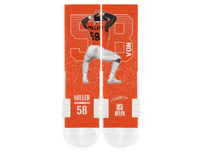 Von Miller Strideline NFL Action Crew Socks