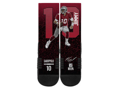 Jimmy Garoppolo Strideline NFL Action Crew Socks