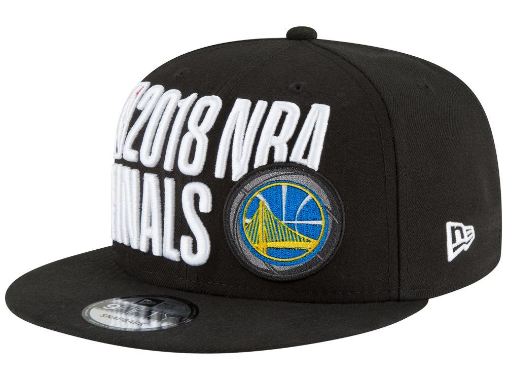 Golden State Warriors New Era 2018 NBA Locker Room Conference Champ 9FIFTY  Snapback Cap  d28309fcc1c4