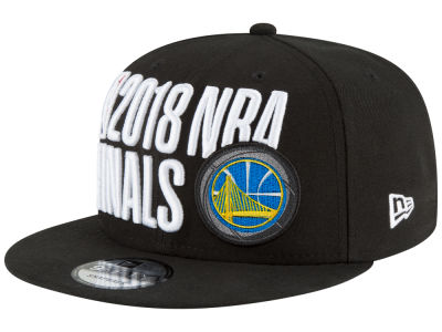 Golden State Warriors New Era 2018 NBA Locker Room Conference Champ 9FIFTY Snapback Cap