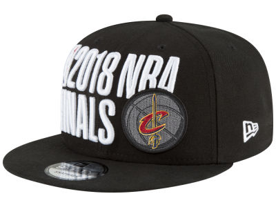 Cleveland Cavaliers New Era 2018 NBA Locker Room Conference Champ 9FIFTY Snapback Cap