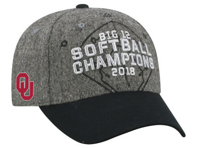 Oklahoma Sooners Top of the World 2018 NCAA Big 12 Softball Conference Champ Cap