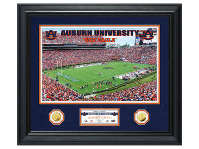 Auburn Tigers Highland Mint Special Edition Gold Coin Photo Mint