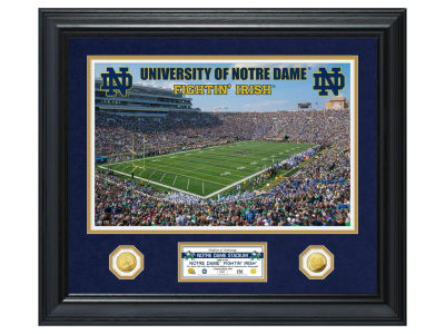 Notre Dame Fighting Irish Highland Mint Special Edition Gold Coin Photo Mint