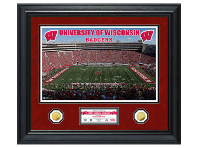 Wisconsin Badgers Highland Mint Special Edition Gold Coin Photo Mint