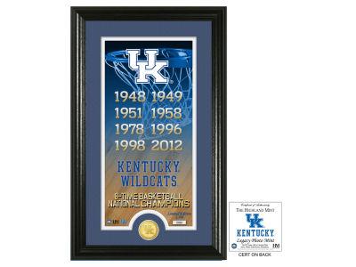 Kentucky Wildcats Highland Mint Legacy Supreme Bronze Coin Panoramic Photo Mint