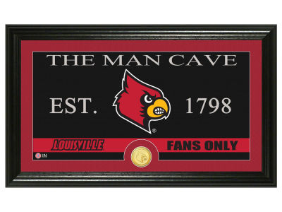 Louisville Cardinals Highland Mint Man Cave Bronze Coin Panoramic Photo Mint